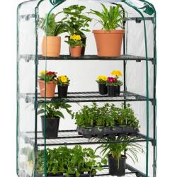 4-Tier Mini Portable Indoor Outdoor Greenhouse