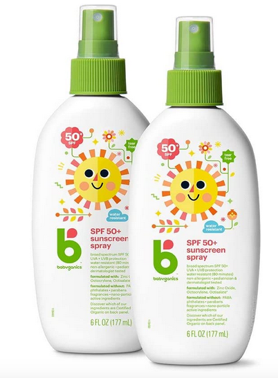 Babyganics Sunscreen Spray 50 SPF