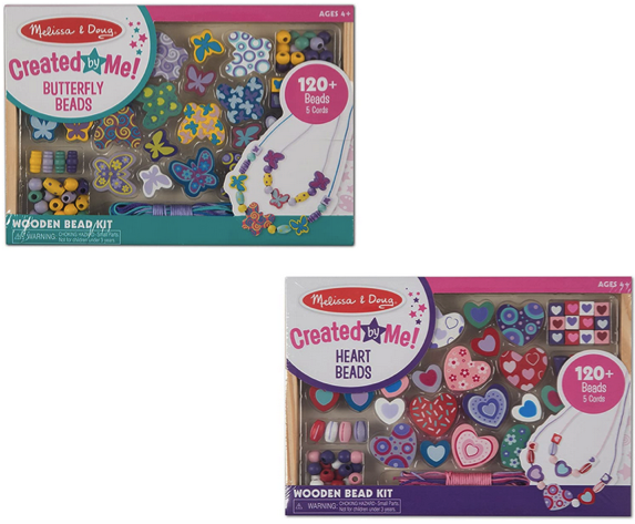 Melissa & Doug Bead Set Bundle, 2-Pack