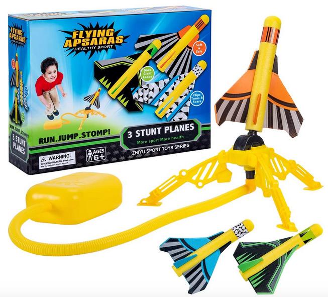 Garunk Jump Rocket Launchers for Kids