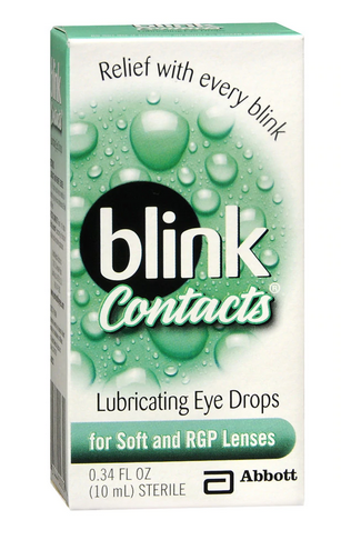BlinkContacts Lubricating Eye Drops