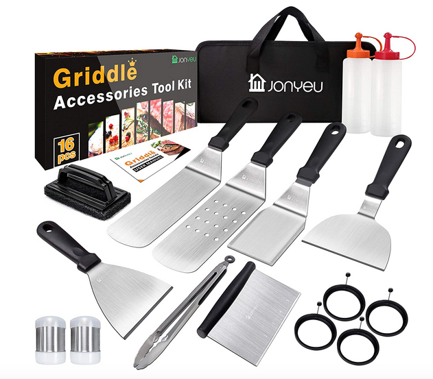 16-Piece Griddle Accessories Set