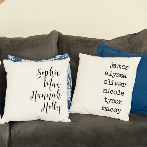 Personalized Propulsion Pillow Covers Lone $9.99 Shipped!