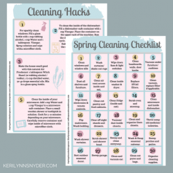 free spring cleaning challenge