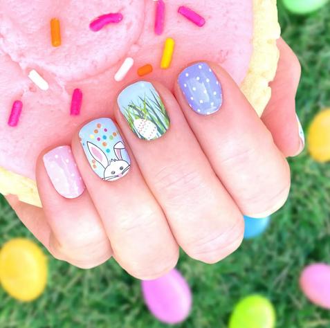 Easter Nail Wraps