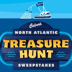 Culver's 'Treasure Hunt' Instant Win Game (736 Winners!)