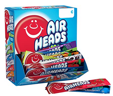 Airheads Candy Bars, Variety Bulk Box