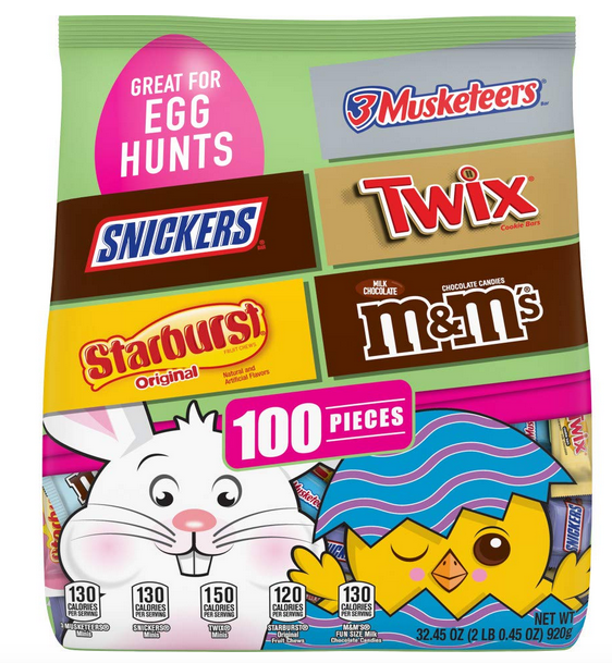 Mars Chocolate Easter Candy (100 pieces) only $8.98!