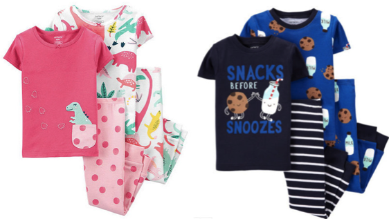 Carter's 4-Piece Pajama Sets