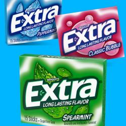 FREE Extra Gum 15-Stick Slim Pack!