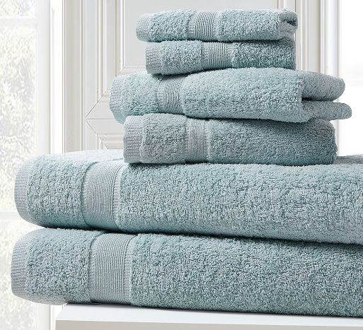 Plush 6-Piece Towel Sets
