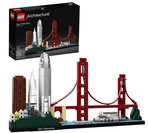 LEGO Architecture Skyline Collection 21043 San Francisco Building Kit
