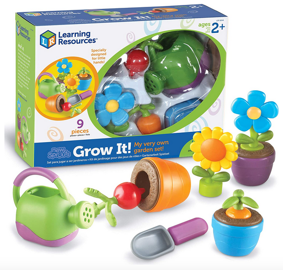 Learning Resources New Sprouts Grow! Toddler garden set