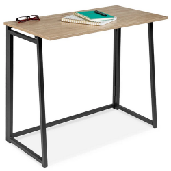 Folding Drop Leaf Office Desk