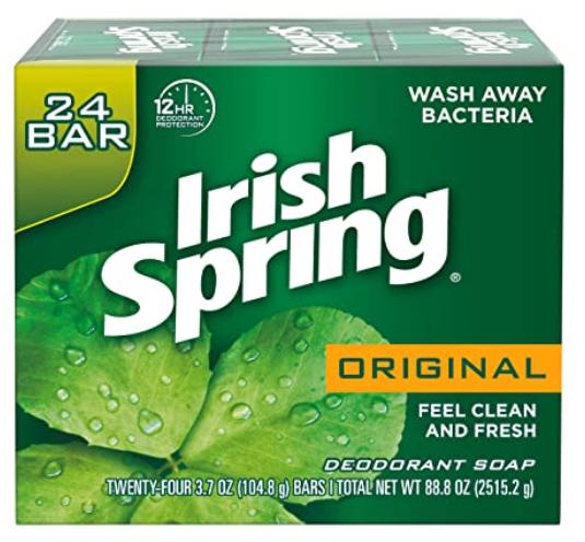 Irish Spring Men's Deodorant Soap Bar