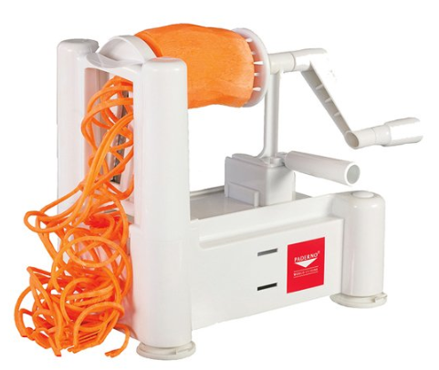 Paderno World Cuisine 6-Blade Spiralizer & Cleaning Brush