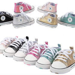 Baby Shoes Sequined Canvas Shoes