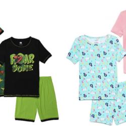 4-Piece Short Pajama Sets