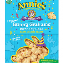 Annie's Bunny Grahams Birthday Cake