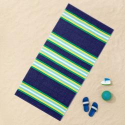 XL Striped Beach Towel