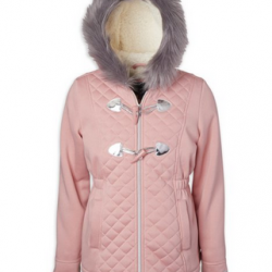 Limited Too Girls Structured Fleece Jacket