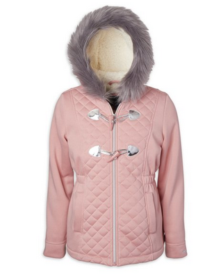 Limited Too Girls Structured Fleece Jacket