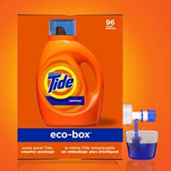Tide Laundry Detergent Liquid Eco-Box