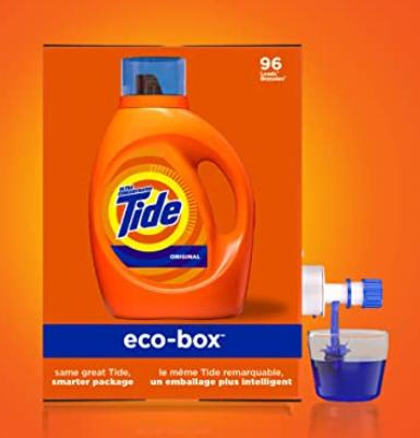 Tide Laundry Detergent Liquid Eco-box (105 Oz) Lone $14.04 Shipped!