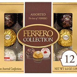Ferrero Rocher Collection, 12 Count Gift Box