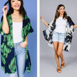 Wanting to spice up your spring wardrobe? You can get a great deal on Cents of Style's Spring Kimonos & Ponchos today!