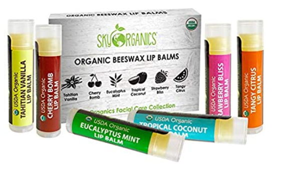 Organic Lip Balm by Sky Organics