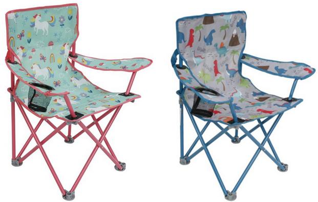Crckt Folding Camp Chair for Kids