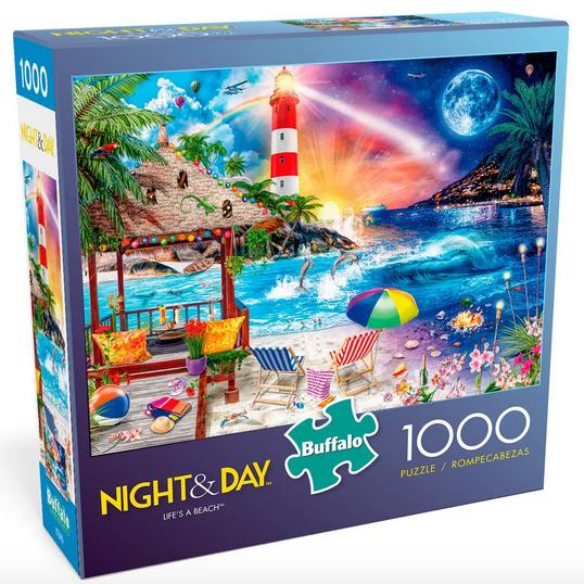 Buffalo Games Life's a Beach 1000 Piece Jigsaw Puzzle