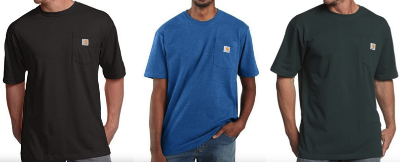 Carhartt Men's K87 Workwear Pocket Short Sleeve T-Shirt