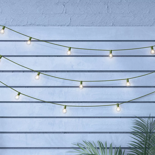 Outdoor String Lights 20-Count Just $7
