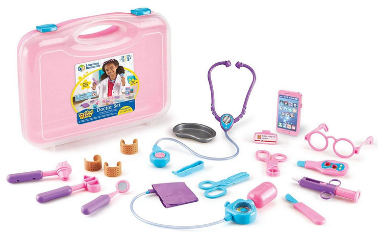 Learning Resources Pretend and Play Doctor Kit