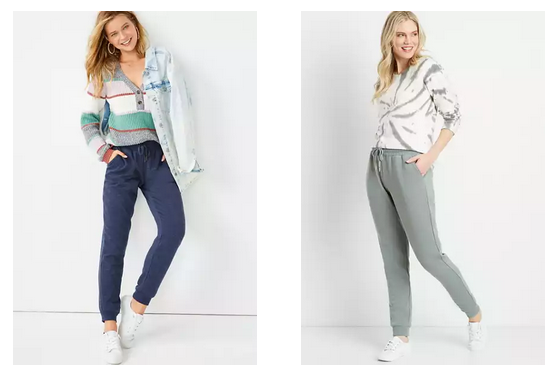 Maurices: Women's Joggers as low as $10 today!