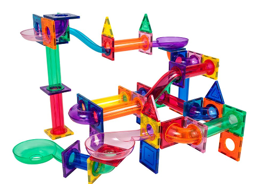 100-Piece Marble Run Building Blocks Set