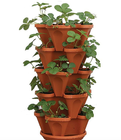 Smart Spring Stackable Planters as low as $17.99!