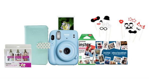 Fujifilm Instax Mini 11 Instant Camera Bundle with Film