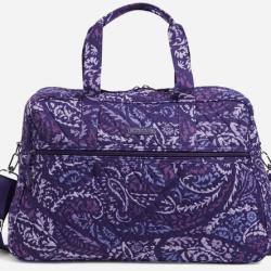 Vera Bradley Factory Style Medium Traveler Bag