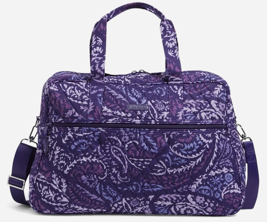 Vera Bradley Factory Style Medium Traveler Bag