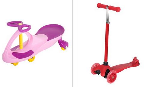 Montar en juguetes