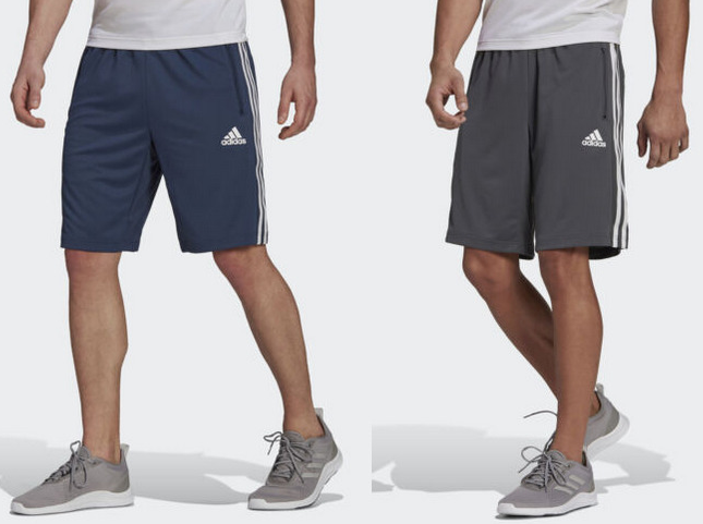 Adidas Men's Shorts w/ Zip Pockets