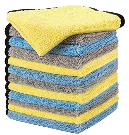 Large & Thick Microfiber Cleaning Cloths