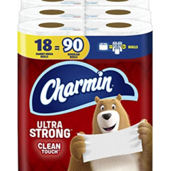 Charmin Ultra Strong Clean Touch Toilet Paper