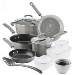 Nonstick 19-Pc. Cookware Set