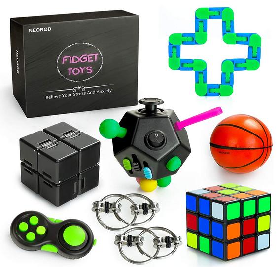 8 Pcs Sensory Fidget Toys Set