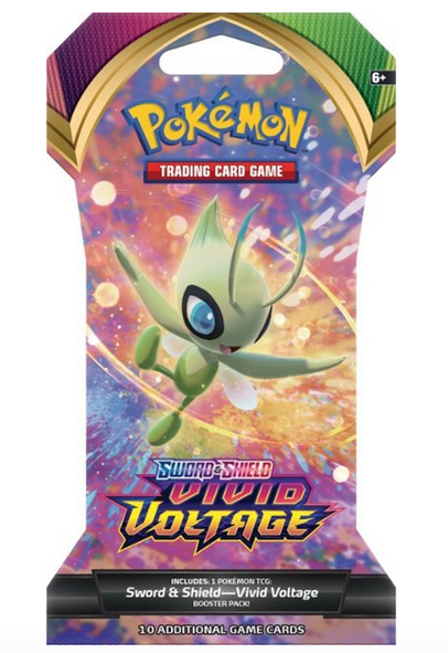 Pokémon Sword & Shield Trading Cards Booster Pack