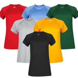Champion Essential Double Dry Short Sleeve T-Shirt 3-Pack